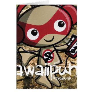 Stereo Mascot Greeting Card
