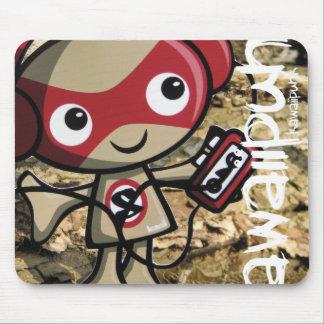 Stereo Mascot Mouse Pad