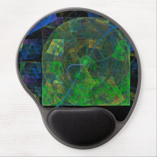 Stereo Punk Flame Fractal Gel Mouse Pad