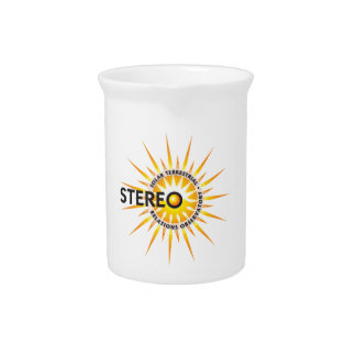 STEREO (Solar TErrestrial RElations Observatory) Drink Pitcher