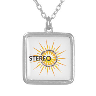 STEREO (Solar TErrestrial RElations Observatory) Silver Plated Necklace
