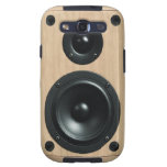 Stereo Speaker Case Cover Galaxy SIII Cover