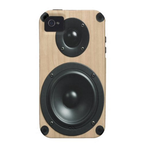 Stereo Speaker Case Cover Vibe iPhone 4 Cases