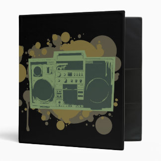 Stereo Style 3 Ring Binder