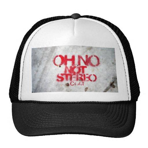 Stereo Trucker Cap Trucker Hats