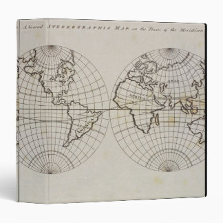 Stereographic Map Binder