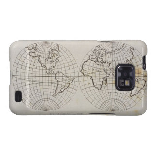 Stereographic Map Samsung Galaxy SII Covers