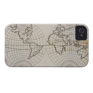 Stereographic Map iPhone 4 Case