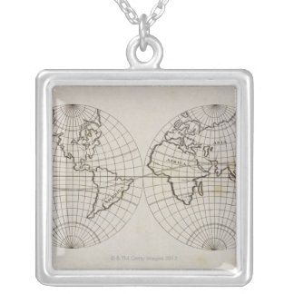 Stereographic Map Jewelry