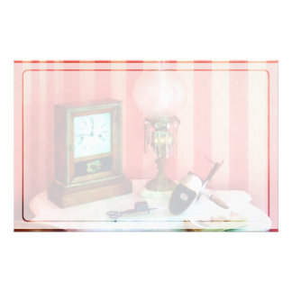 Stereopticon, Lamp and Clock Stationery