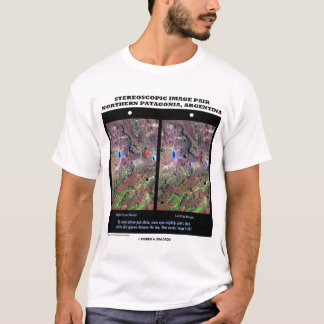 Stereoscopic Image Northern Patagonia Argentina T-Shirt
