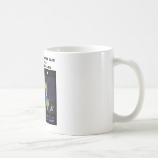 Stereoscopic Image Pair Miquelon & Saint Pierre Is Coffee Mug