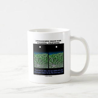 Stereoscopic Image Pair Pasadena, California Coffee Mug