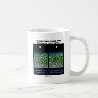 Stereoscopic Image Pair Pasadena, California Mug