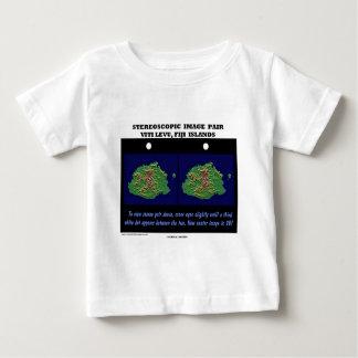 Stereoscopic Image Pair Viti Levu, Fiji Islands Baby T-Shirt