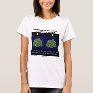 Stereoscopic Image Pair Viti Levu, Fiji Islands T-Shirt