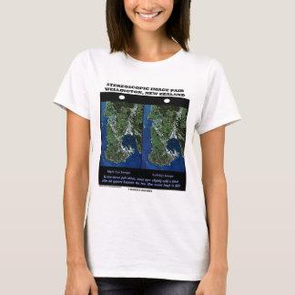 Stereoscopic Image Pair Wellington New Zealand T-Shirt