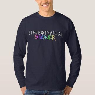 """Stereotypical Stoner""  Logo Longsleeve Tee"