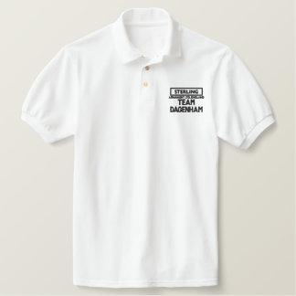 Sterling 1, TEAM DAGENHAM Embroidered Polo Shirt