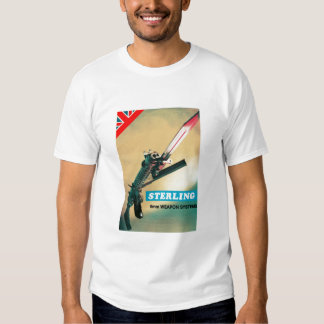 STERLING 9mm Weapons systems T-shirt