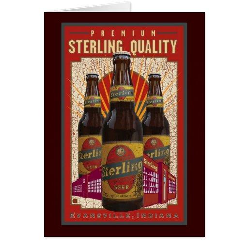 Sterling Beer Greeting Cards