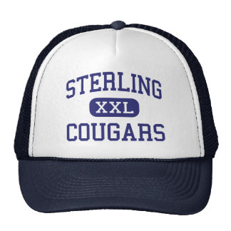 Sterling Cougars Middle Wenatchee Washington Trucker Hat