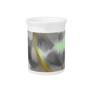 Sterling Desire Pastel Abstract Beverage Pitcher