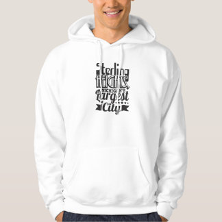 Sterling Heights 4th Largest City Hoodie