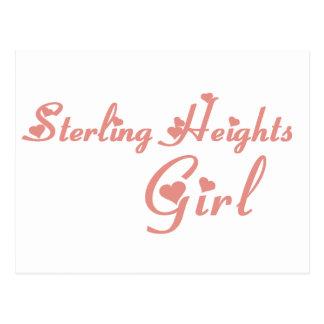 Sterling Heights Girl tee shirts Postcard