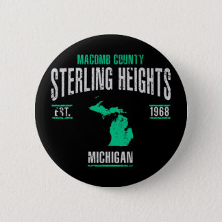 Sterling Heights Pinback Button
