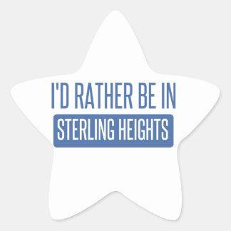 Sterling Heights Star Sticker