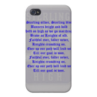 Sterling High Alma Mater 4/4S  iPhone 4/4S Case