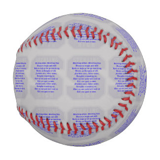 Sterling High Alma Mater Custom Baseball