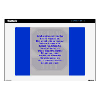 """Sterling High Alma Mater Electronics Skin 13"""" Laptop Decals"""