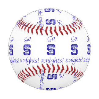 Sterling High Go Knights II Custom Baseball