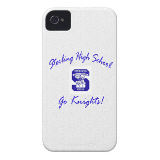 Sterling High Go Knights Logo I Blackberry Bold Ca Case-Mate iPhone 4 Case