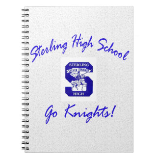 Sterling High Go Knights Logo I Notebook