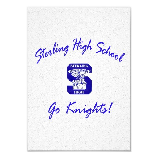 Sterling High Go Knights Logo I Photo Print