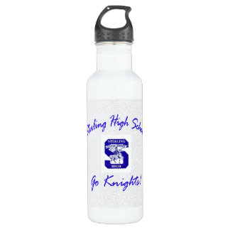 Sterling High Go Knights Logo I Stainless Steel Water Bottle