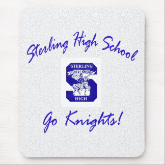 Sterling High Go Knights Logo I Standard Mousepad