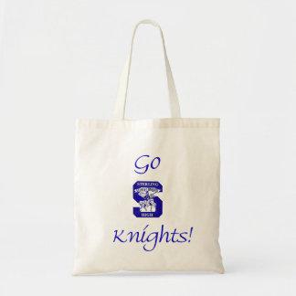 Sterling High Go Knights Logo II Budget Tote Bag