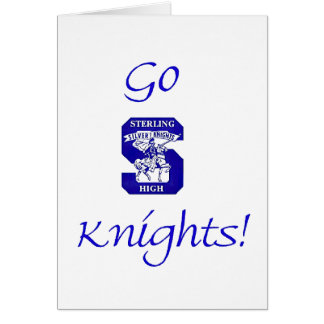 Sterling High Go Knights Logo II Card (Blank Inter