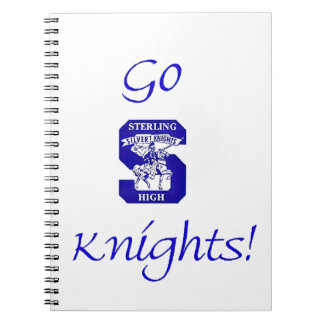 Sterling High Go Knights Logo II Notebook