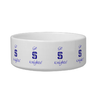 Sterling High Go Knights Logo II Pet Bowl