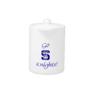 Sterling High Go Knights Logo II Teapot