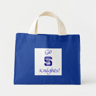 Sterling High Go Knights Logo II Tiny Tote Bag