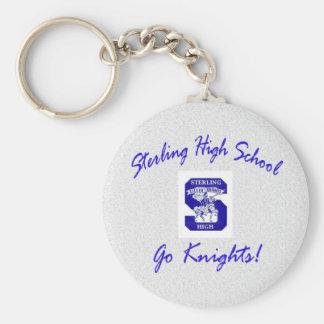 Sterling High Keychain