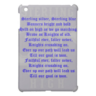 Sterling High School Alma Mater  Case For The iPad Mini