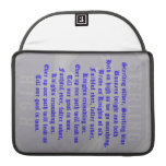 Sterling High School Alma Mater MacBook Pro Flap S Sleeve For MacBooks