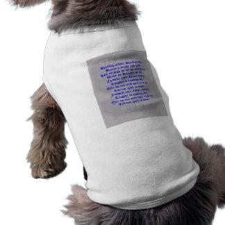 Sterling High School Alma Mater Pet Clothing